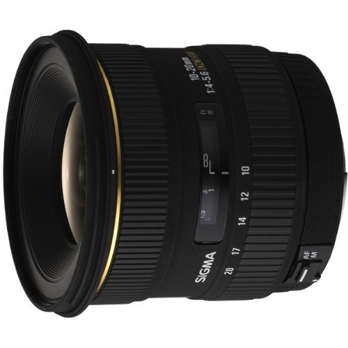 Sigma 10-20mm f/4-5.6 EX DC Lens for Minolta and Sony Digital SLR Cameras by Sigma