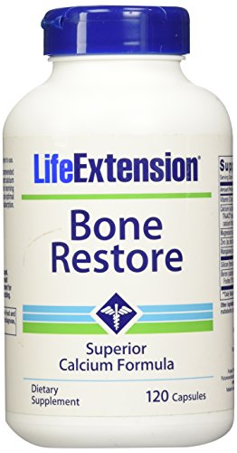Life Extension Bone - Life Extension Bone Restore, 120 Capsules