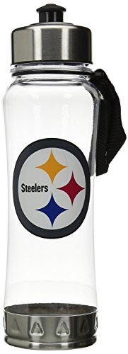 NFL Pittsburgh Steelers Clip-On Water Bottle