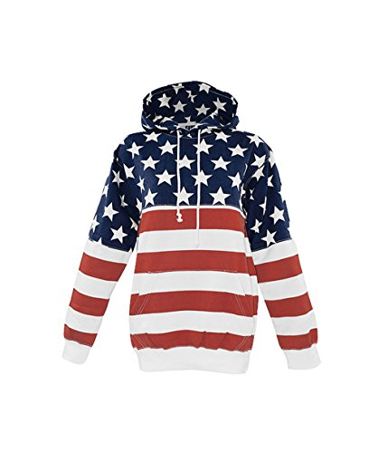 Womens Unisex Patriotic American Pullover product image