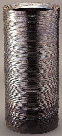 信楽焼陶器 傘立 ラスターライン傘立 高さ45.5cm 335-05 B00BHNXZ24