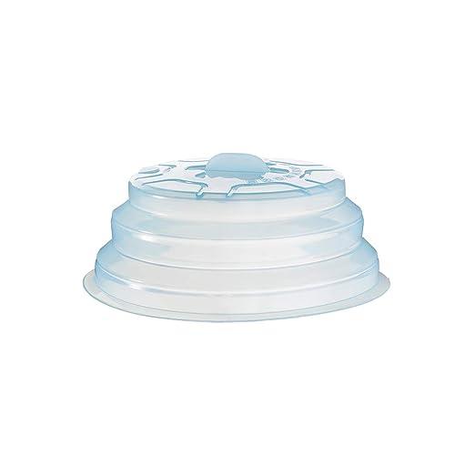BESTONZON - Cubiertas de Silicona para microondas Plegables, Tapa ...