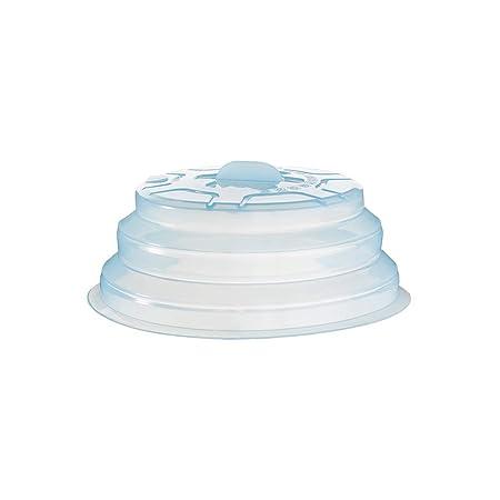 BESTONZON Cubiertas Frescas de Silicona Cubierta de Placa Plegable para microondas Salpicadura de la Tapa del Protector de Salpicaduras Cubierta de ...