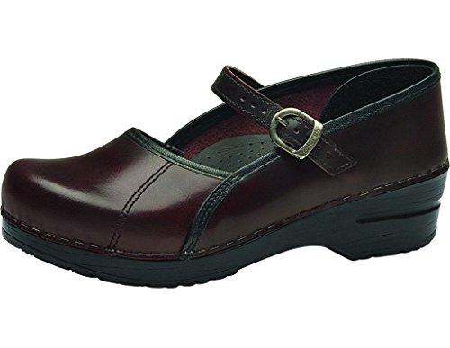 Dansko Shoes Womens Clogs Marcelle Fabric 36 Cordovan Cab...