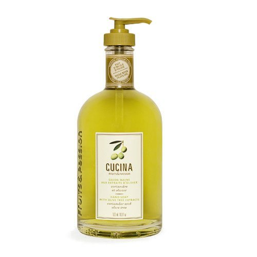 Cucina Purifying Hand Wash Coriander and Olive Tree 16.9 Fl Oz Glass Bottle by Cucina (Wash Hand Purifying Cucina)