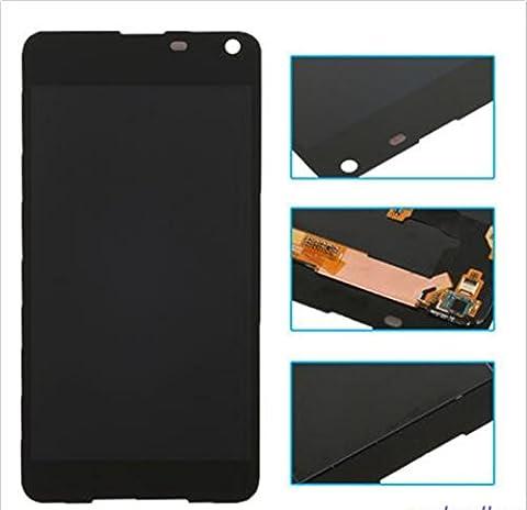 Black Microsoft Lumia 650 LCD Display Touch Screen Digitizer Assembly (Nokia Lumia 650 Phone)