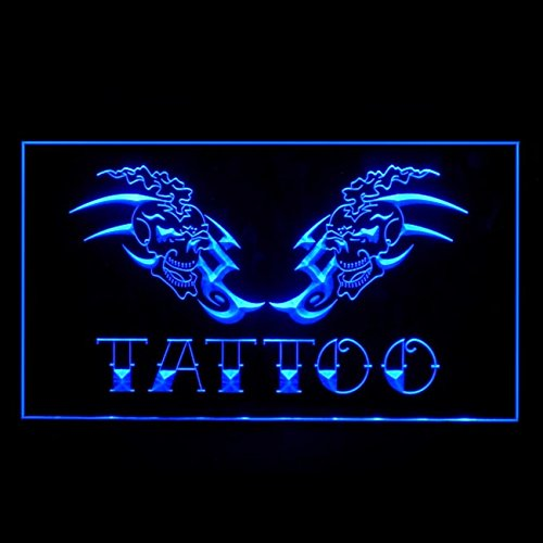 100023 Tattoo Shop Airbrush Koi Fish Display LED Light Sign by Easesign