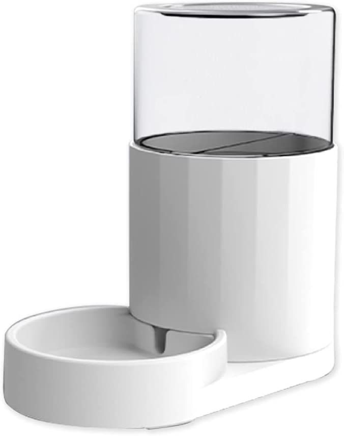 Lulu Home Automatic Pet Waterer, 84Oz/2.5L Automatic Pet Water Dispenser with NO Filter, Auto Fill Pet Waterer