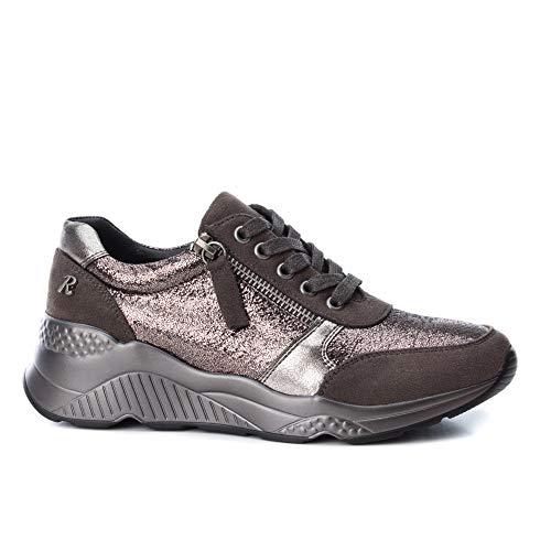 Metallic Sneaker Grigio Refresh Plum Donna wzqfSI