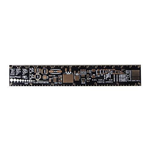 bhty235 Lineal Messwerkzeug PCB-Referenzlineal PCB-Verpackungseinheiten f/ür Elektroniker