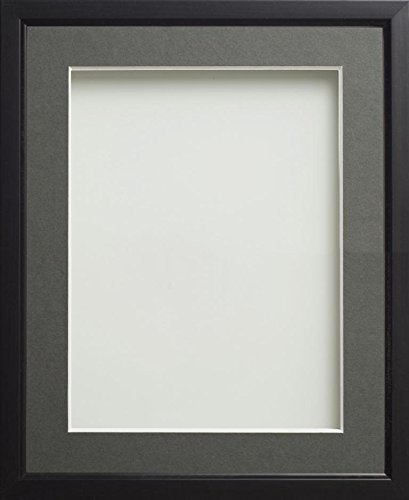 Frame Company Drayton Range Picture Photo Frame with Grey Mount for ...