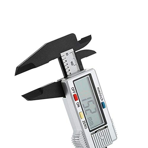 Premium Quality 150mm/6inch LCD Digital Electronic Carbon Fiber Vernier Caliper Gauge Micrometer Measuring Tool