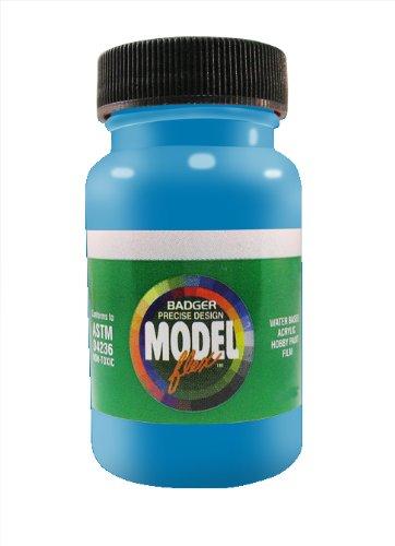 (Badger Air-Brush Co. 2-Ounce Modelflex Railroad Airbrush Ready Water Based Acrylic Paint, Conrail Blue)