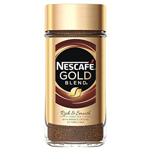 Smooth Instant Coffee - NESCAFÉ GOLD BLEND A Premium Instant Coffee With A Smooth, Distinctive Flavor And Rich Aroma. Imported From The UK England The Best Of British Instant Coffee Savor The Smooth Well-Rounded Taste Of