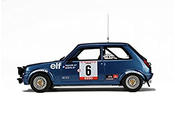 Amazon.com: 1/18 Renault 5 Alpine GR2 TDC / 1979 / Blue (OTTO OT580): Toys & Games
