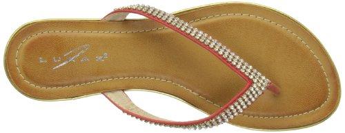 Griffith Park JLH619 - Sandalias de vestir para mujer Red