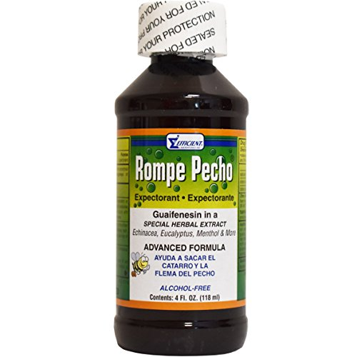 Rompe Pecho Cough Syrup 4 Ounce ( Pack Of 1 ) (Pecho Syrup Rompe Cough)