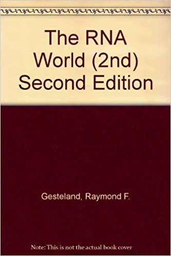 THE RNA WORLD GESTELAND PDF DOWNLOAD