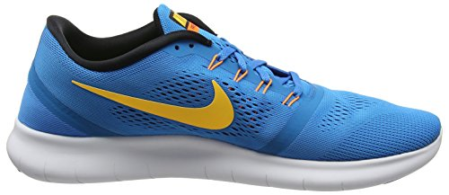 NIKE Shoe RN Spark Men's Gym Red Blue Squadron Black Running Blue Free ggFHSq7