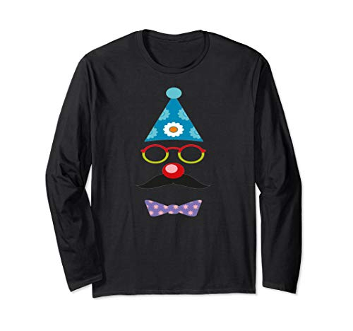 BirthDay Clown Long Sleeve T Shirt -