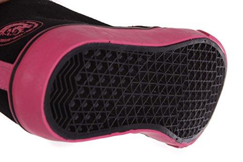 DIESEL ZAPATILLAS DEPORTIVAS de mujer HIGH ZAPATOS DE Cordones Zapatos negros