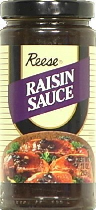 Reese Sauce, Raisin, 10-Ounce (Pack of 6) by Reese