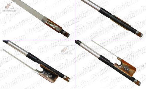 D Z Strad #506 Advanced Model Texture Carbon Viola Bow Silver OX Horn