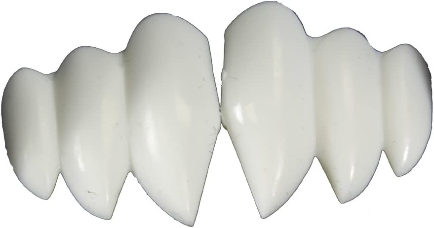 Billy-Bob Vampire Bite Fangs Faux Fake Teeth Multi-fang Bite Halloween Costume
