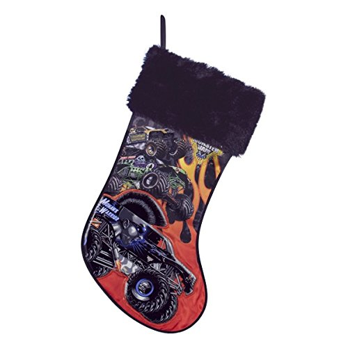 Kurt Adler 19'' Monster Jam Applique Stocking by Kurt Adler (Image #1)
