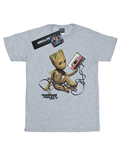 deportiva Guardians de Marvel en gris The Of Boy Groot Camiseta Galaxy w1IgZdqq4