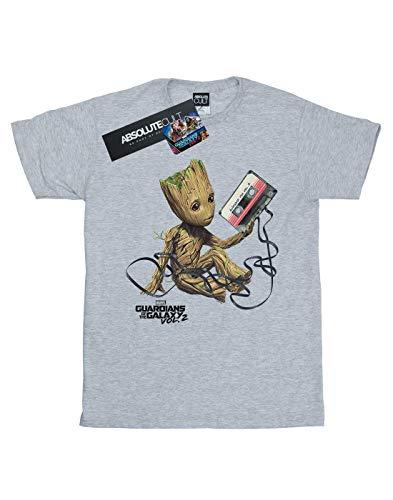 Galaxy Homme Tape Groot Maris The Sport shirt Gris Of Guardians T xPgw6YqW