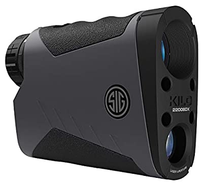 Sig Sauer KILO2400BDX Range Finder BT 7X25 Gray from SIGO