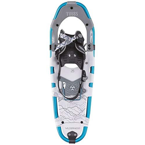 Tubbs Men's Wilderness Snowshoe, Light Grey/Blue, 30 in. (Tubbs Snowshoes 30 Inch)