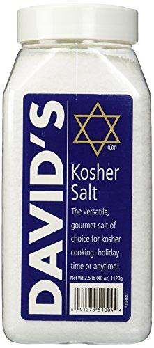 David's Kosher Salt 2.5 Pounds (40 Ounces) (Salt Kosher)