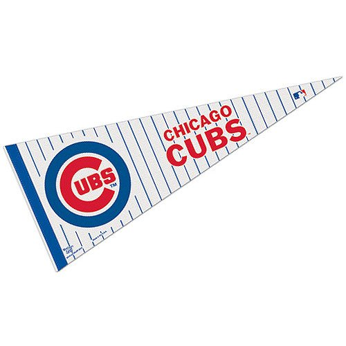 Chicago Cubs Official MLB 29 inch Pennant by Wincraft ()