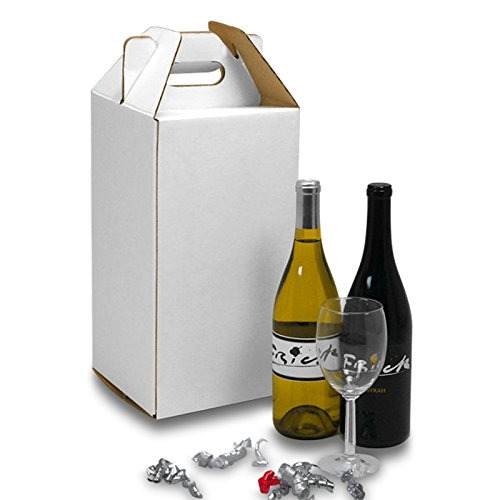 (Wine Carry Boxes 4 Pack | Quantity: 25 | Width: 7 1/4