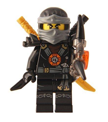 LEGO Ninjago: Minifigure - Cole Deepstone Minifig with Armor and Aeroblade ()