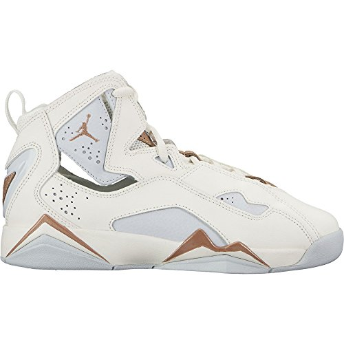 Jordan Sneakers (Nike Air Jordan True FLight GG Big Kids' Basketball Shoes Sail, 7)