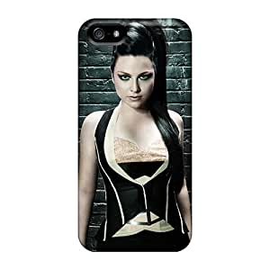 Iphone 5/5s Xkd10148JjKq Allow Personal Design High Resolution Evanescence Band Skin Shock Absorbent Cell-phone Hard Covers -AlainTanielian