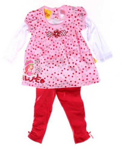 Strawberry Shortcake Infant/Toddler Girls 2pc Set Love (24Mos) ()