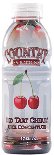 Country Spoon Montmorency Red Tart Cherry Juice Concentrate (17 oz.) (Montmorency Cherry)