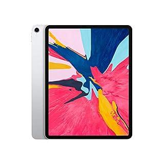 Apple iPad Pro 3rd Gen (12.9-inch, Wi-Fi + Cellular, 1TB) - Silver (Renewed)