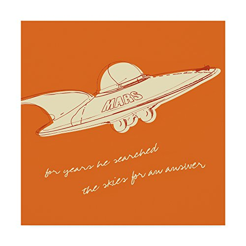 Lunastrella Flying Saucer by John W. Golden, -