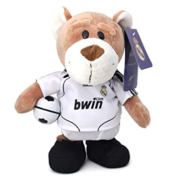 Peluche Oso Andante Canta Himno Real Madrid