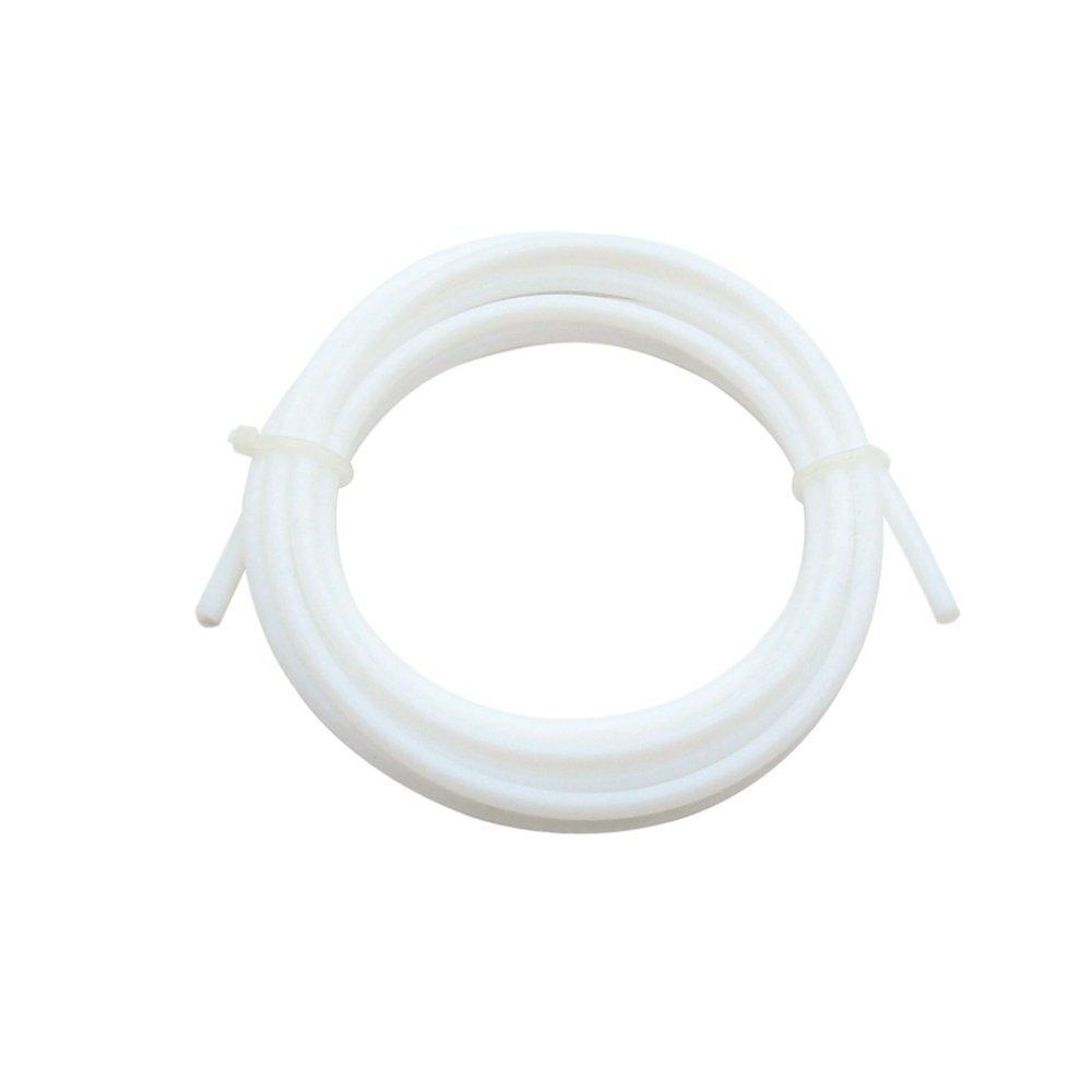 wei/ß 2/Meter PTFE Teflon Bowdenzug Tube 2.0/mm ID 4.0/mm OD f/ür 1,75/mm Filament f/ür 3D-Drucker RepRap Rostock kosselr