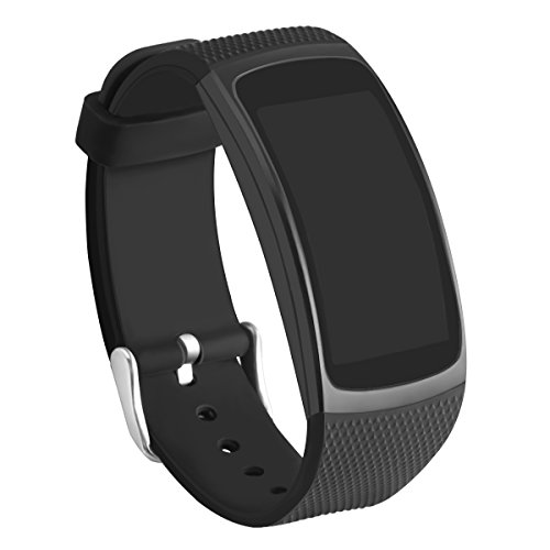 Gear Fit2 Bands, GHIJKL Silicone Replacement Strap for Samsung Gear Fit 2 & 2 Pro Tracker