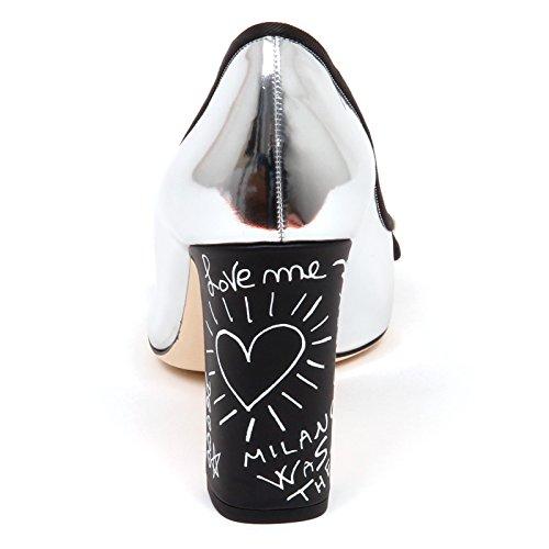 Nero amp; Woman Donna Argento Dolce Decollete Gabbana E6842 Shoe Scarpe Silver vqPPUw