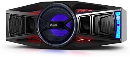 Klip Xtreme JetWave 2.1 Channel Stereo with Subwoofer 1600 Watt Speaker with LED Lighting, Compatible with Bluetooth