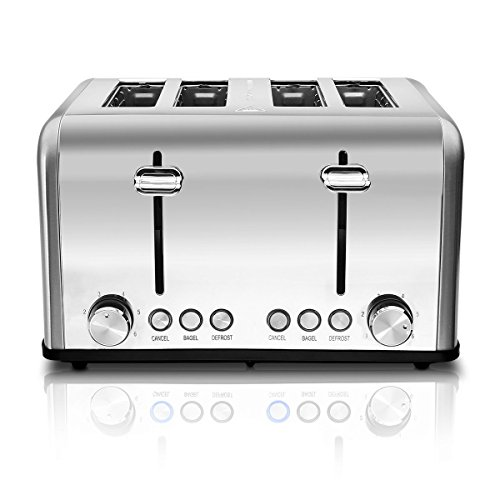 6 slice pop up toaster - 1