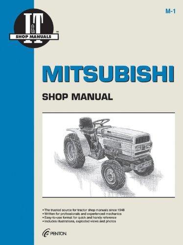 Mitsubishi Models MT160 MT160D+ (I & T Shop Service)